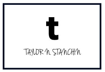 taylor n. stanchin